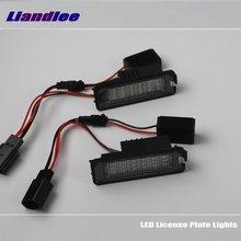 цена на Liandlee LED Car License Plate Lights / Number Frame Light For Volkswagen VW Derby 2006 2007 2008 / High Quality LED Lamp