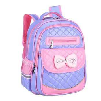 1d554995f6df Product Offer. Водонепроницаемый детский школьный мешок ортопедический школьный  рюкзак для начальной школы принцессы рюкзак для девочек ...