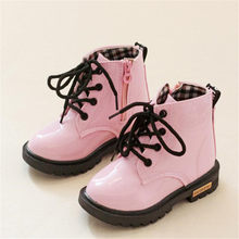 2019 autumn and winter new children boots boys and girls fashion boots princess classical boots(China)