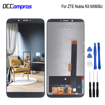 For ZTE Nubia N3 NX608J NX617J LCD Display Touch Screen Digitizer Repair Parts For ZTE Nubia N3 LCD Screen Display Free Tools new 7 for texet tm 7086 lcd display screen 164 100mm tablet pc repairment parts free shipping
