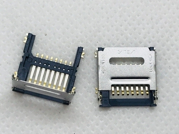 Old Machine Flip LCN ALPS Children Watch 6/7/8PIN Micro SIM TF SD Card Slot Tray Holder Adapter Original New PCB Board FPC FFC image