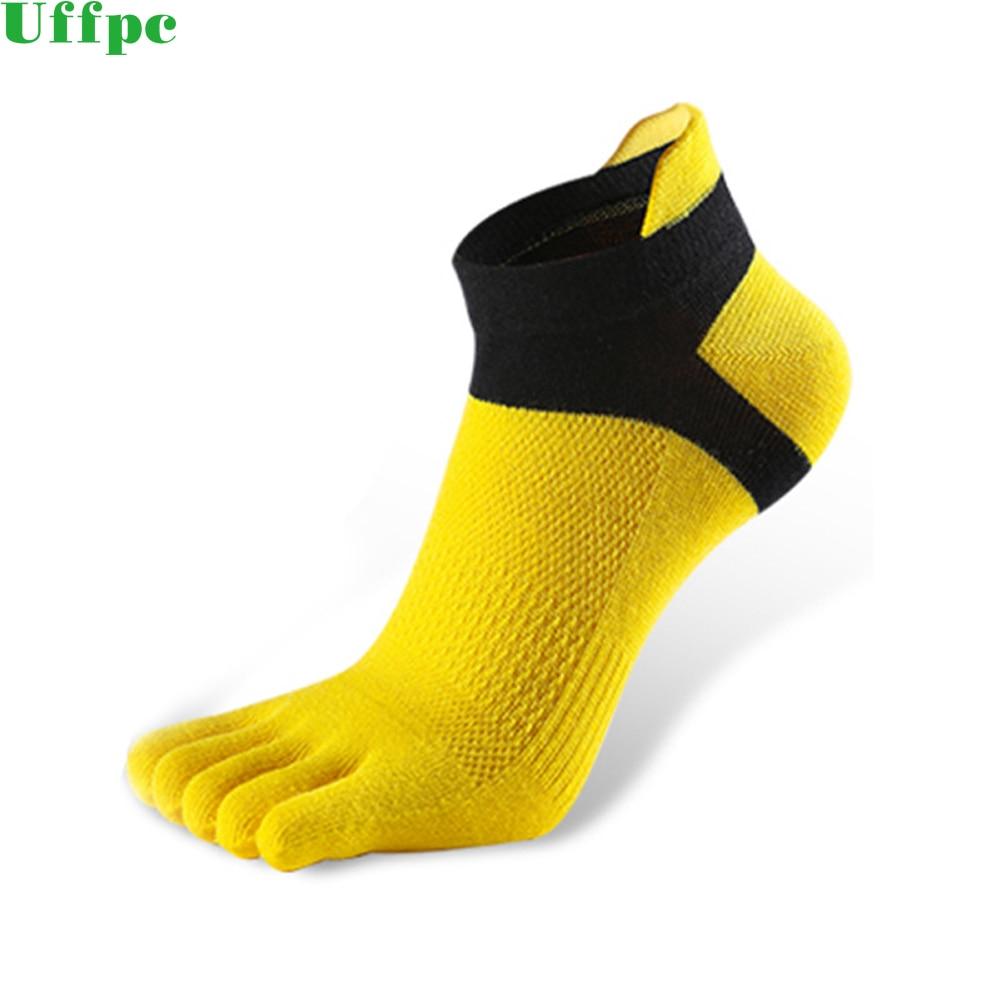 1 Pair Men's Socks Five Finger Sock New Men Mesh Meias Sports Running Five Finger Toe Socks Comfortable Sports Breathable Socks