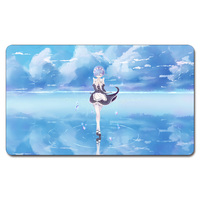 Rem Re Zero Background Playmat 525 Custom Anime Board Games Play Mat Card Games Custom