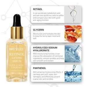 Image 5 - BREYLEE ธรรมชาติ 100% Retinol Lifting Firming เซรั่มคอลลาเจน Essence ลบริ้วรอย Anti Aging Face Skin Care Fade Fine เส้นที่ดีที่สุด