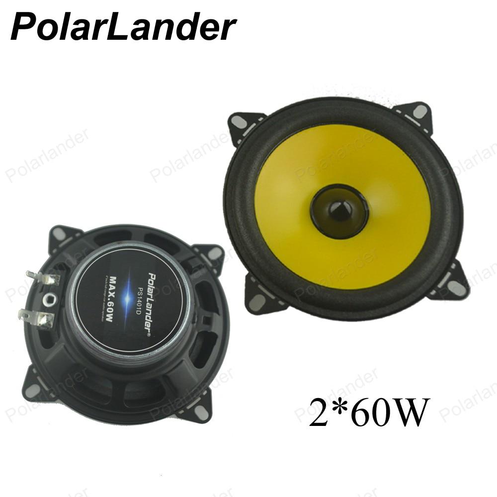 a pair 4 inch 2x60W Full-range car audio stereo speaker car speaker Automobile automotive PS401D Loudspeakers