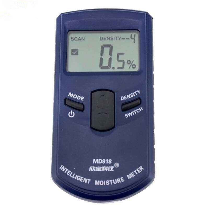 MD918 Digital wood moisture meter wood Humidity Meter Damp Detector Tester Paper moisture meter wall moisture analyzer 4~80% inductive wood tree timber digital moisture meter with bag md918 4 80