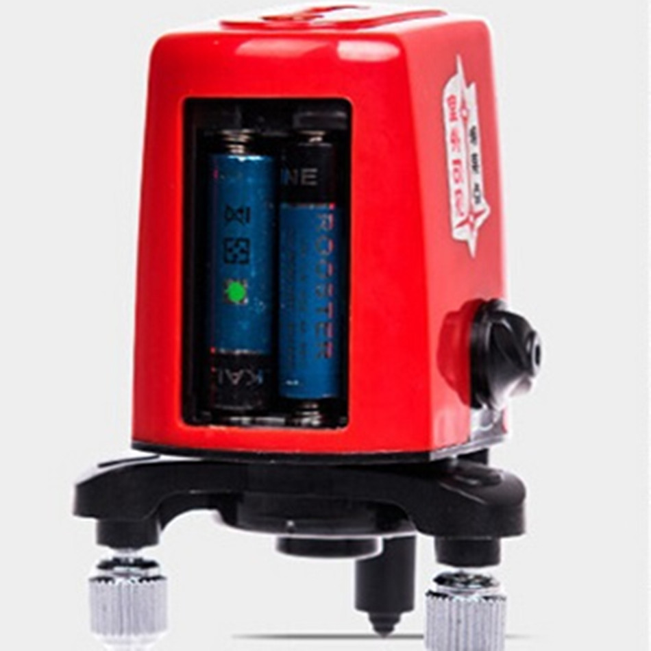 AK455 360 Degree Rotating Cross Laser Level 2V1H3P 3 Line 3 Point Level Tools Line Lasers Work Outdoor