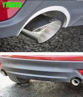 Ponta de escape silenciador tubo de escape do carro auto para mazda cx 5 cx 5 2014 2015 2016  aço inoxidável  2 pcs|muffler muffler|mufflers for cars|muffler exhaust tips -