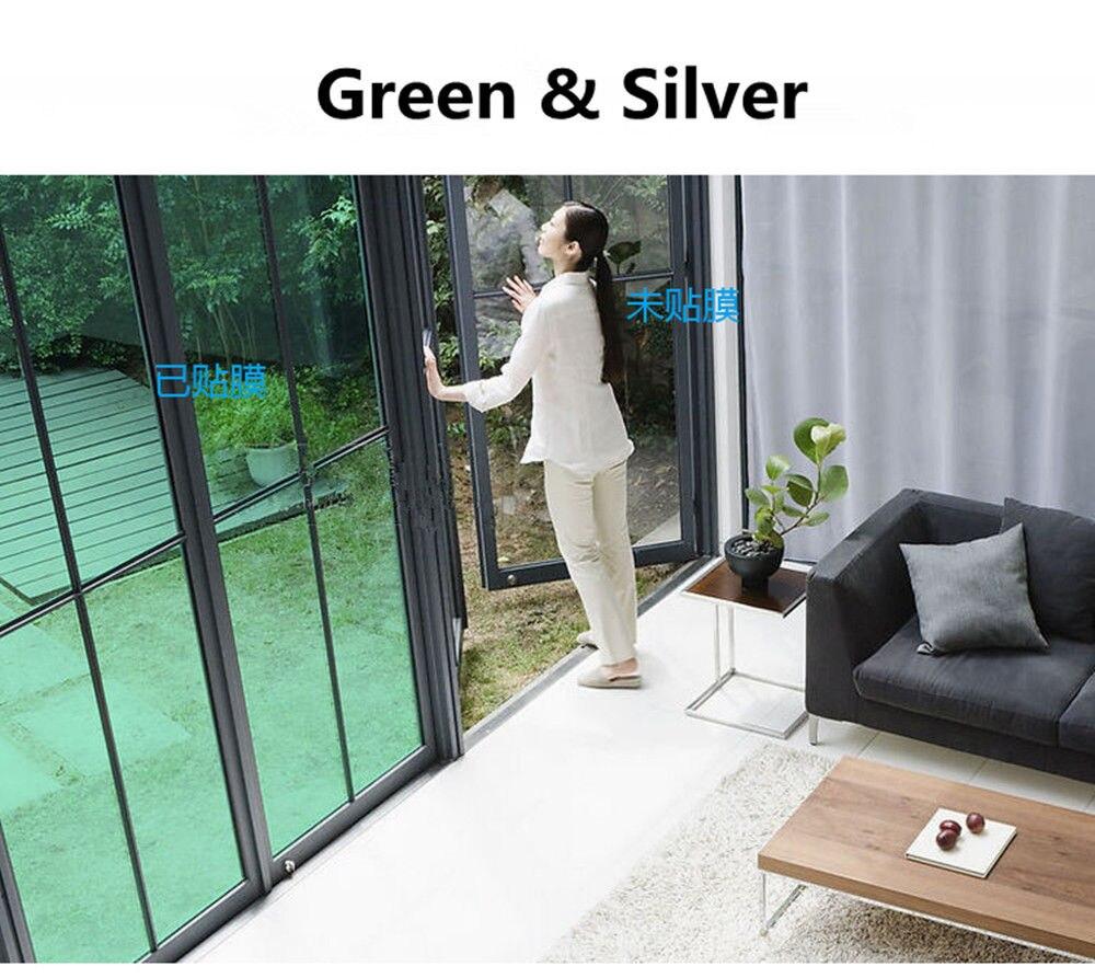 1 52m12m Bestseller Grün Silber Farbe reflektierende wärmeabgabe