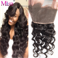 Malaysian Virgin Hair Lace Frontal Closures 8A 13*4 Malaysian Loose Wave Virgin Hair Frontal Loose Wave Human Hair Weave Frontal