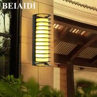 BEIAIDI E27 Waterproof European Outdoor Wall Lamp Aluminum Alloy Classical Villa Garden Lights Outdoor Corridor Porch