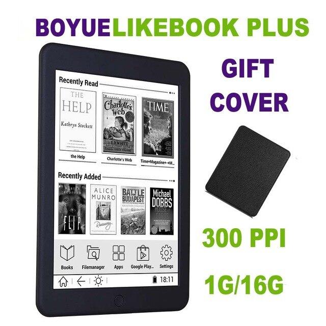 BOYUE Likebook Plus ebook reader 7.8 inch Carta Screen 300PPI 1G/16G Touch ANDROID Bluetooth Backlight ebook ereader eink + Case