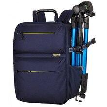 Новый стиль мужчины профессиональные dslr-камеры рюкзак оксфорд анти шок женщин ноутбук сумка для 15.6 дюймов ipad ноутбук