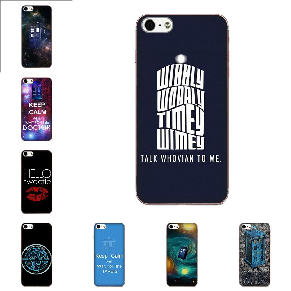 Dr Doctor Who Tardis TPU Design Phone For Galaxy J1 J2 J3 J330 J4 <font><b>J5</b></font> J6 J7 J730 J8 2015 2016 2017 2018 mini Pro image