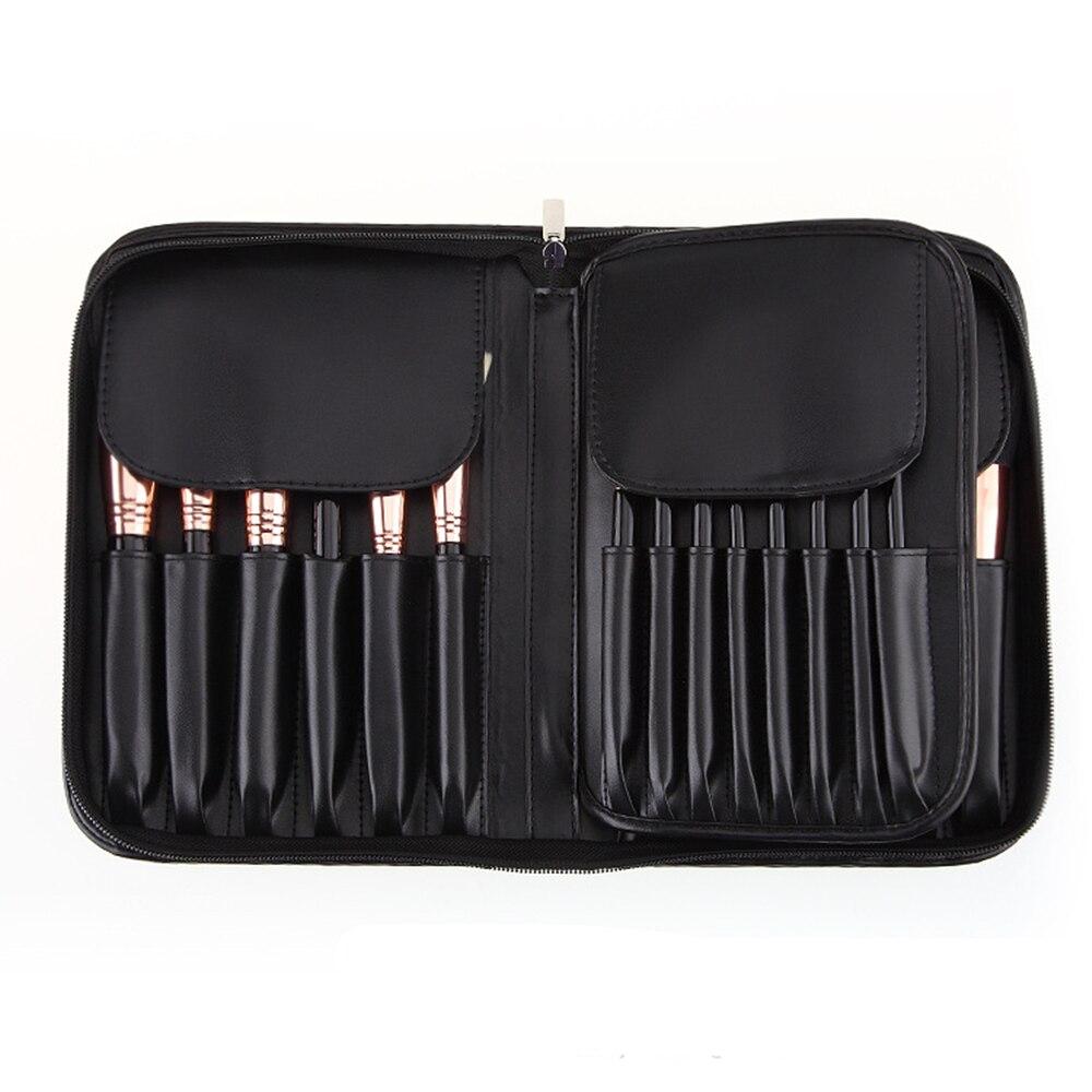 CHILEELOVE 29 шт. высококлассные высококачественные кисти для макияжа Профессиональный набор кистей для губ, коза + лошадь + синтетические волосы - 5