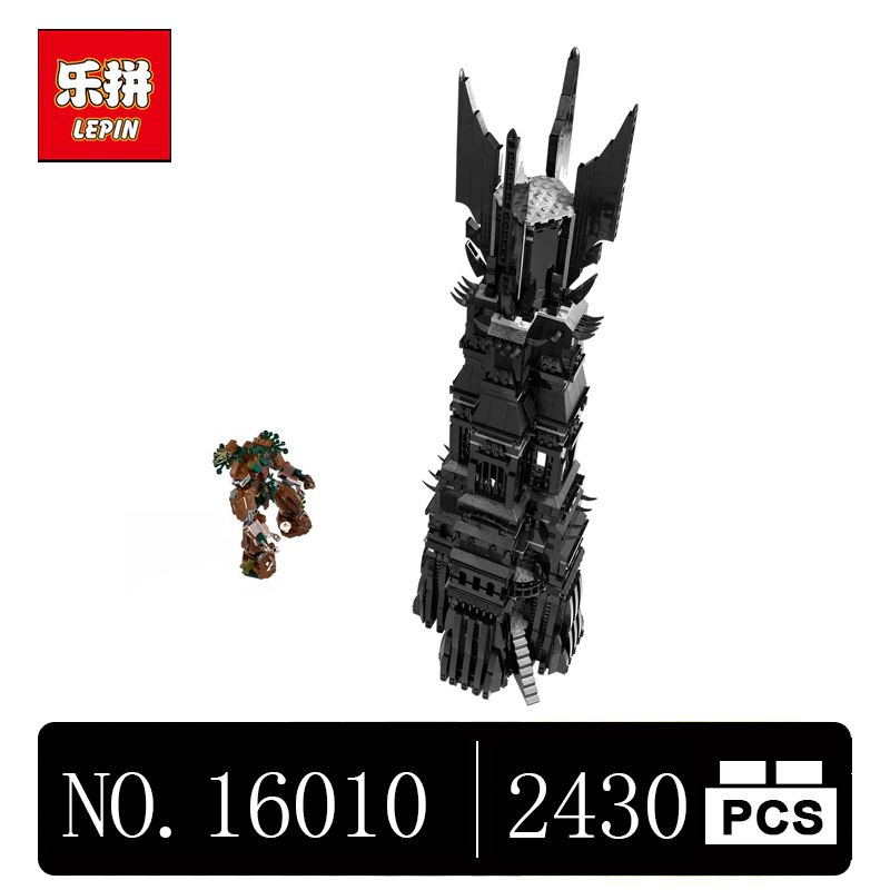 DHL LEPIN 16010 2430Pcs Lord of the rings Lord of the rings LEPIN Model set Building Kits Model 10237 толстовка wearcraft premium унисекс printio властелин колец lord of the rings