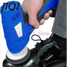 JIQI бытовой обувной полировщик Электрический мини Ручной портативный кожаный полировальная машина полировщик Чистка обуви щетка очиститель ЕС