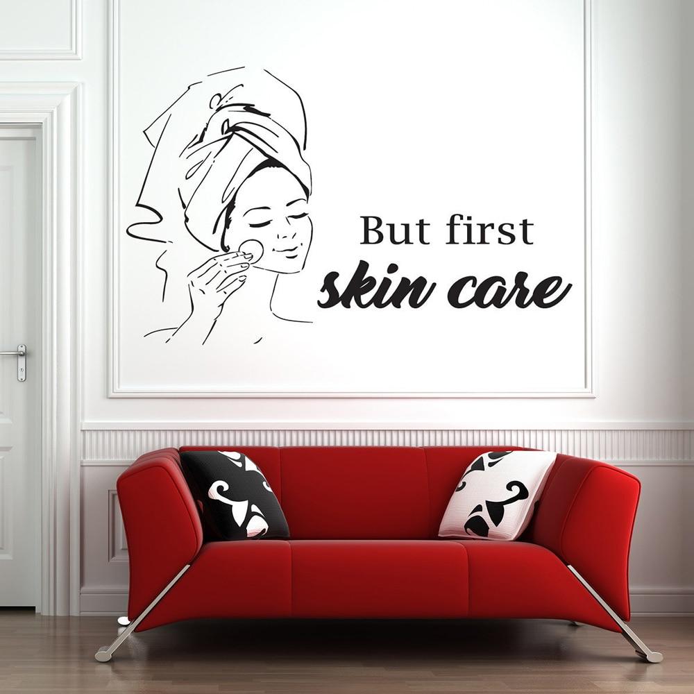 hot discount ed wall art sticker facials treatment