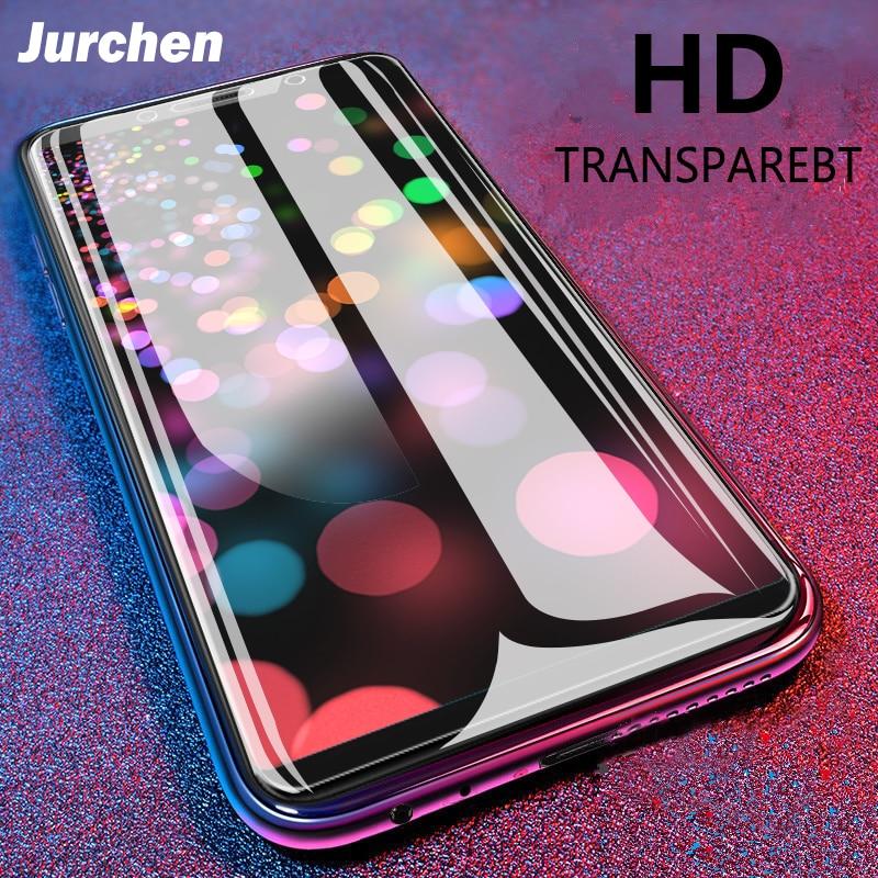 JURCHEN 2Ps Screen Protector For ZTE Nubia Z11 Mini S Z17 Mini Z18 Mini Tempered Glass For Blade L2 L3 L7 L6 S6 A601 A602 A612