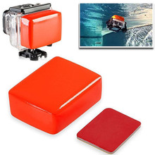 New 1pc Red Floaty Sponge High Quality Float Sponge + 3M Adhesive Sticker For GoPro Hero  6/5/4/3+/3/2/1 Mayitr