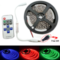 5M Led Light Strip SMD5050 3528 5630 Flexible LED Tape DC 12V Non Waterproof RF LED Controller Home store Office Decoration