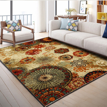 Nordic modern printing area carpet living room table bedroom full of kid room bedside rug kitchen anti-skid rectangular mat home vintage printing anti skid indoor outdoor area rug