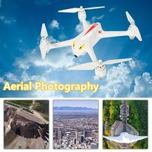 LeadingStar B2C 1080 P Kamera MJX RC Drone Brushless Motor Transmitter AlarmHigh zk35 Kapasitas Baterai Pesawat Putih