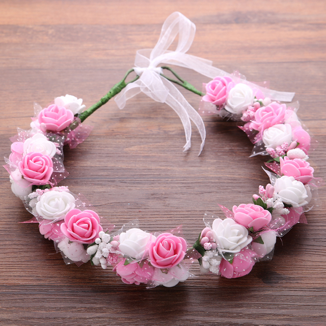 Women Flower Wedding Hair Accessories Ladies Flowers Hair Ornaments