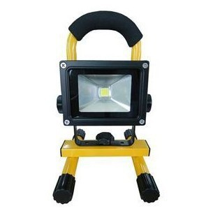 ФОТО Free Shipping LED emergency  floodlight 10W outdoor camping car fishing household portable rechargeable lights