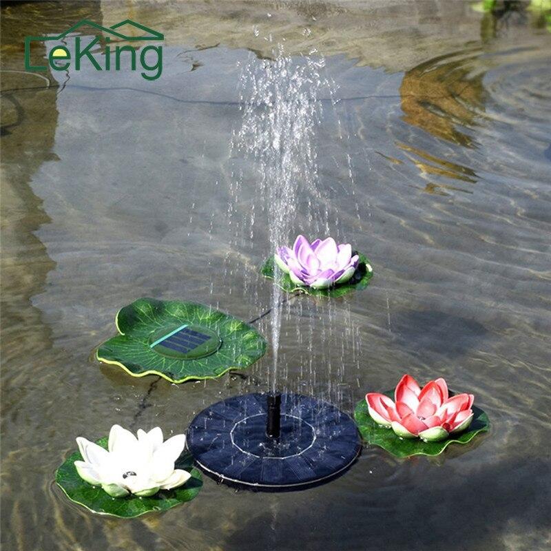 Fuente de agua Solar Fuente Solar fuente del jardín Artificial fuente al aire libre para jardín de la familia decoración del parque