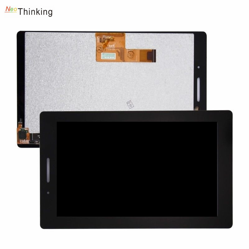 NeoThinking <font><b>LCD</b></font> Screen Display Assembly For <font><b>Lenovo</b></font> <font><b>TAB</b></font> <font><b>3</b></font> Essential 710F Tab3 TB3-710F TAB3-710 Touch Screen Digitizer Assembly image