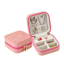 ASLESY Jewelry Storage Container Boxes Travel Casket Packaging Organizer Box Exquisite Makeup Case Cosmetics Birthday Display