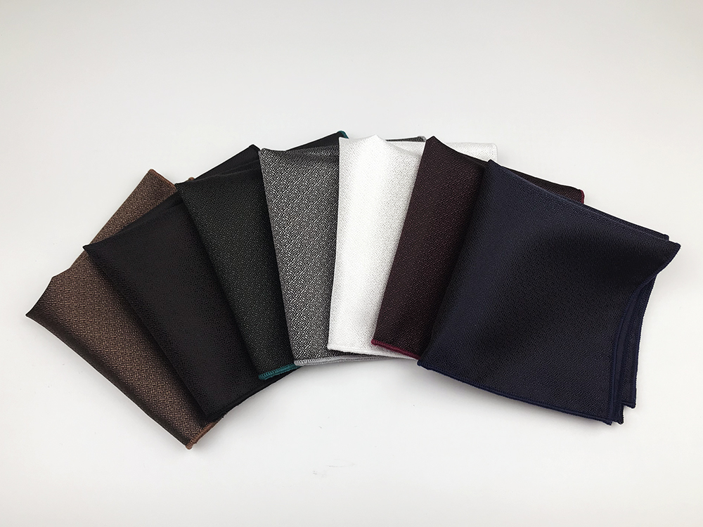High Quality Woven Polyester Mens Pocket Square