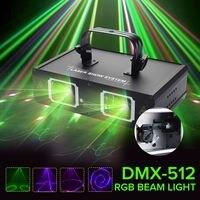 Claite DMX 512 светодиодный этап свет лампы Дискотека лазерного освещения с США Plug внутренней отделки для КТВ паб вечерние клуб DMX lumiere лазерной
