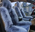 Зима теплая чистая Натуральная шерсть плюшевые автомобилей чехлы сидений пользовательских подходят для VW beetle Jetta Бора поло Гольф 4 6 7 Фаэтон Гран Lavida