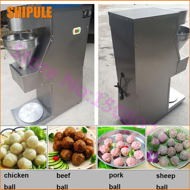 SHIPULE distributor wanted 2018 trending products small meatball machine electric fishball making machine hot sale electric commercial stuffed meatball making machine cfr price shipoping by sea
