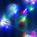 Un filet de lumiere Colorful 1.5*1.5m 96 LED Net Light Christmas Lights Wedding Events and Parties Decoration OUTDOOR  Lights