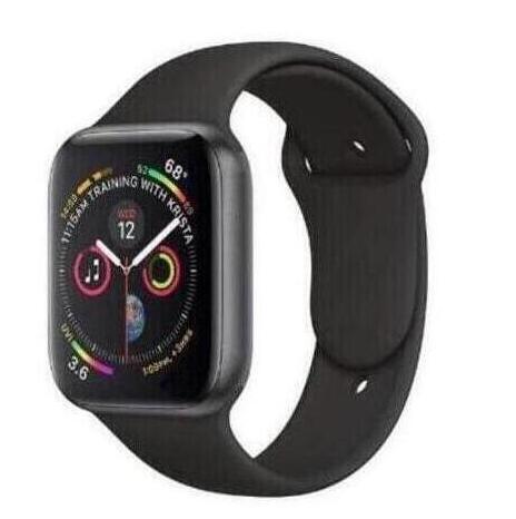Smartwatch 42mm taille 1:1 montre intelligente série 4 fréquence cardiaque avec bouton rouge boîtier en alliage pour téléphone intelligent iOS Android
