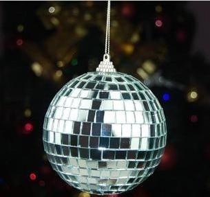 Bola de espejo de cristal de 8 cm bola de navidad bola de billar, - Para fiestas y celebraciones - foto 2