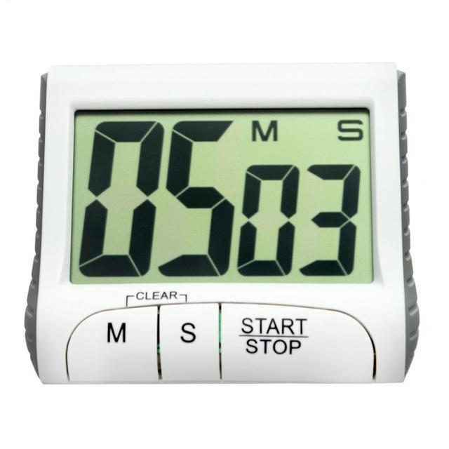 Portable Numérique Compte À Rebours Minuterie Horloge Grand Écran ...