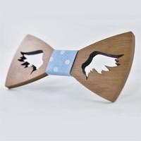 New Style Fashionable Hollow Out Wood Adjustable Bow Ties Butterfly Shape Bowknots Wedding Party Suit BowTie Cravat Gravatas