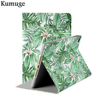 Cover For IPad Pro 10 5 Leaf PU Leather Tablet Cover Case For New IPad 9