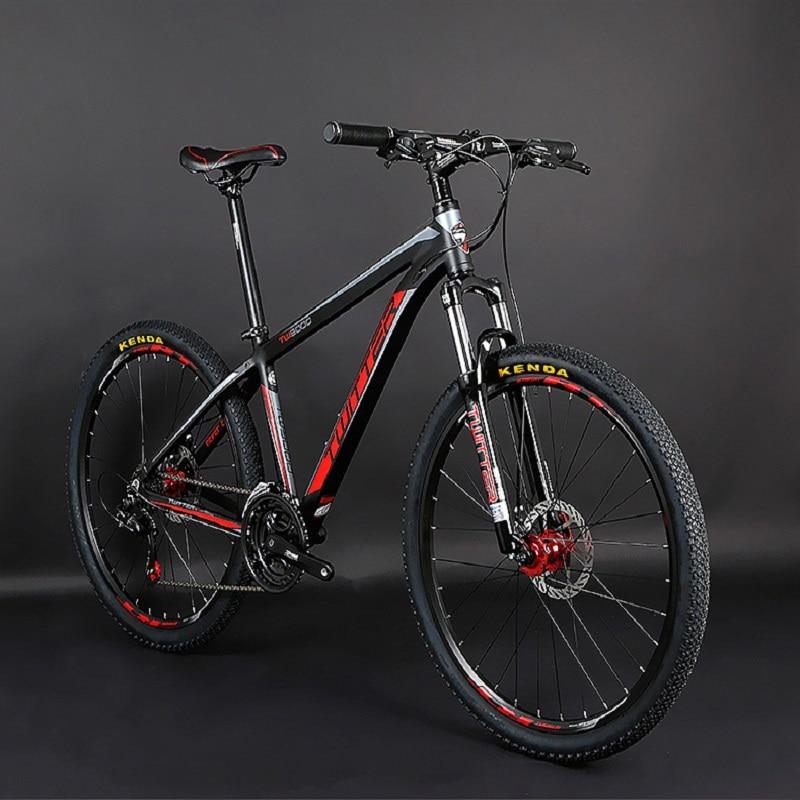 Mountain Bike 24-speed Dual Disc Brakes Inner Line Men/women Bicycle