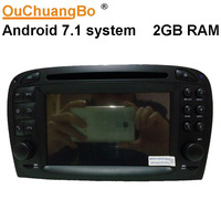 Ouchuangbo Android Car Gps Navigation System For Benz SL R230 2001 2004 6 With Radio Wifi