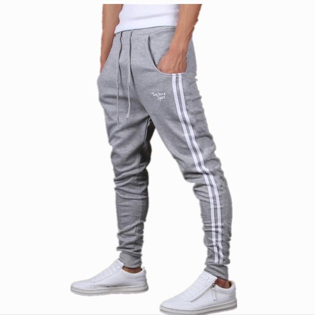 Mens Joggers New FashionCasual Harem Sweatpants Sport Pants Trousers Sarouel  Men Tracksuit Bottoms For