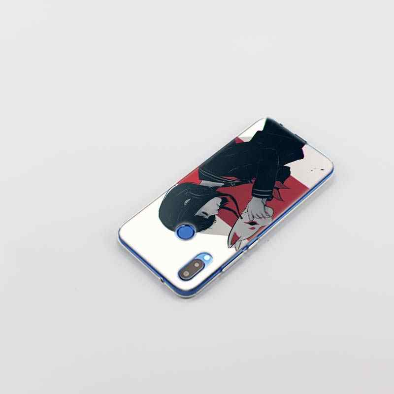 LEWD 悲しいアニメケース huawei 社 P20 1080p スマートノヴァ 3i 4 P8 P9 ミニ 2017 P30 lite プロ 2019 シリコーンソフト Coque キャパカバー