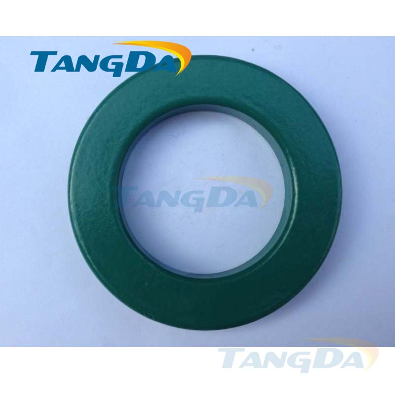 Tangda T CORE RH CORE toroidal cores OD*ID*HT 88*55*13 mm Anti-interference Ferrite core Spray paint insulated 5KV 150C toroidal transformer 32mm inner diameter ferrite core as200 125a black
