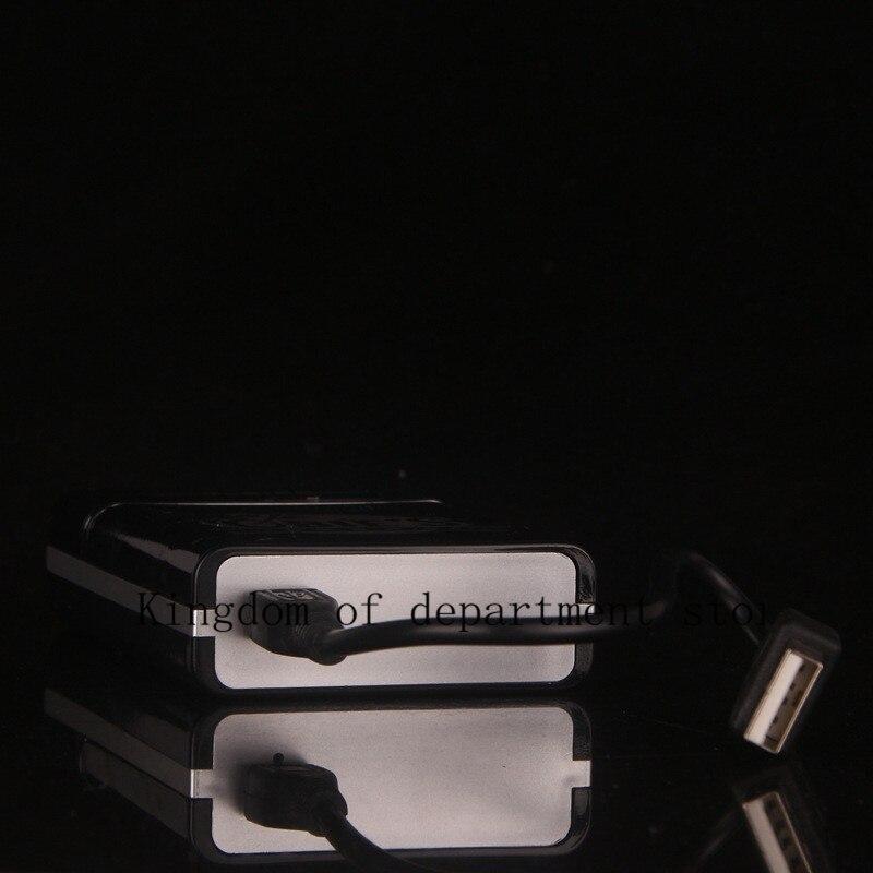 Exquisite cigarette USB charging cigarette lighter cigarette case sheet electric wire 8 pack new cigarette case