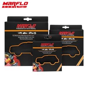 Image 4 - MARFLO Car Wash Magic Clay Bar Pad Mitt Sponge Polishing Pad before Auto Care Wax Applicator Car Paint Repair Auto Skin