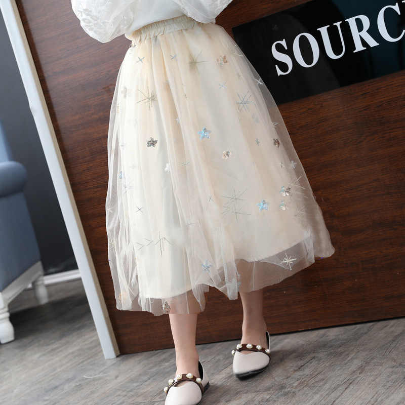 07c78734f7bfb8 ... Girls Skirts Autumn Winter Kids Clothing Summer Girl Mesh Long Skirt  Ball Gown Baby Girl Clothes